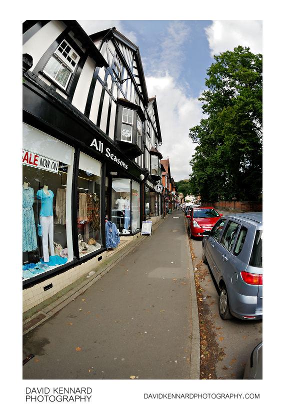All Seasons shop, Church Stretton