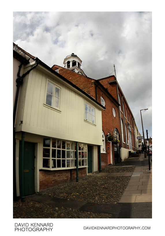 Houses on Mill Street, Ludlow
