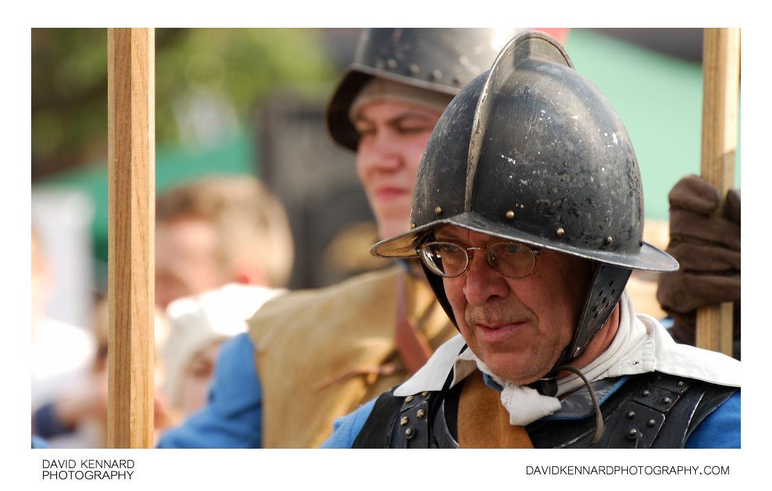 English Civil War Royalist Soldier