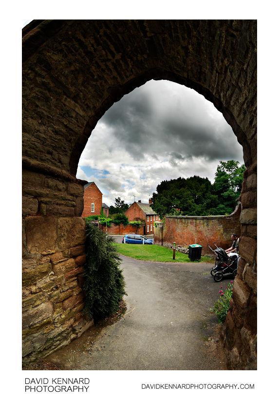 Gateway in Castle Wall