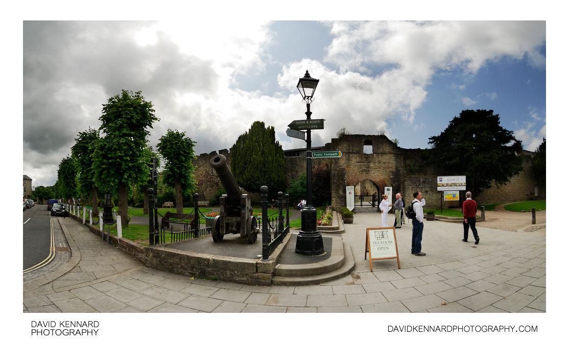 Ludlow Castle Entrance