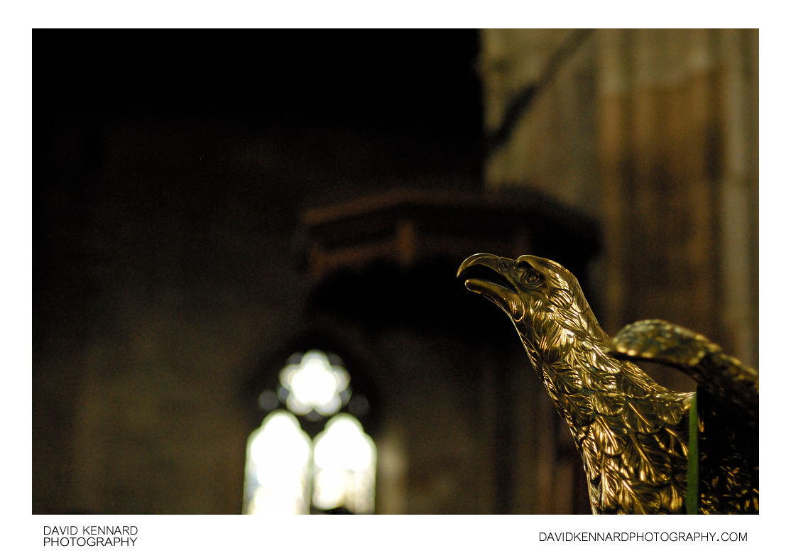 Brass Eagle Lectern