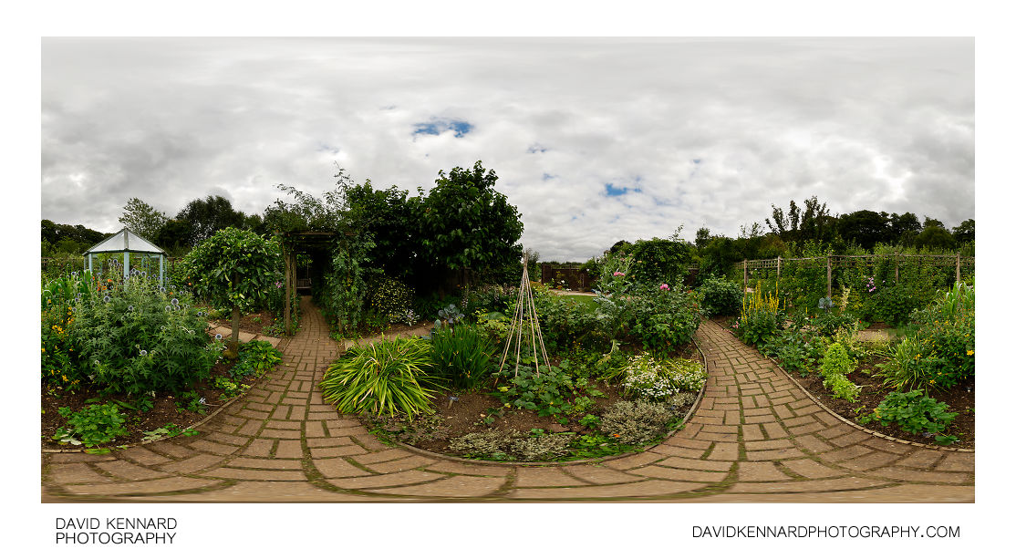 Ornamental Kitchen Garden, Barnsdale Gardens