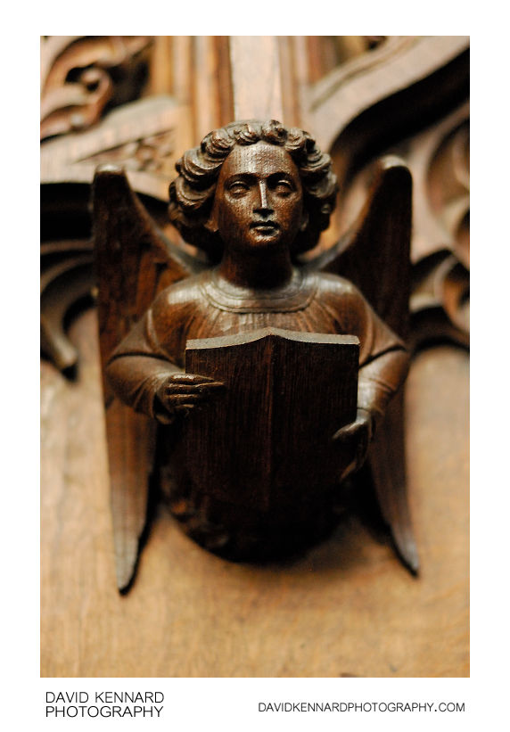 Wooden Angel carving