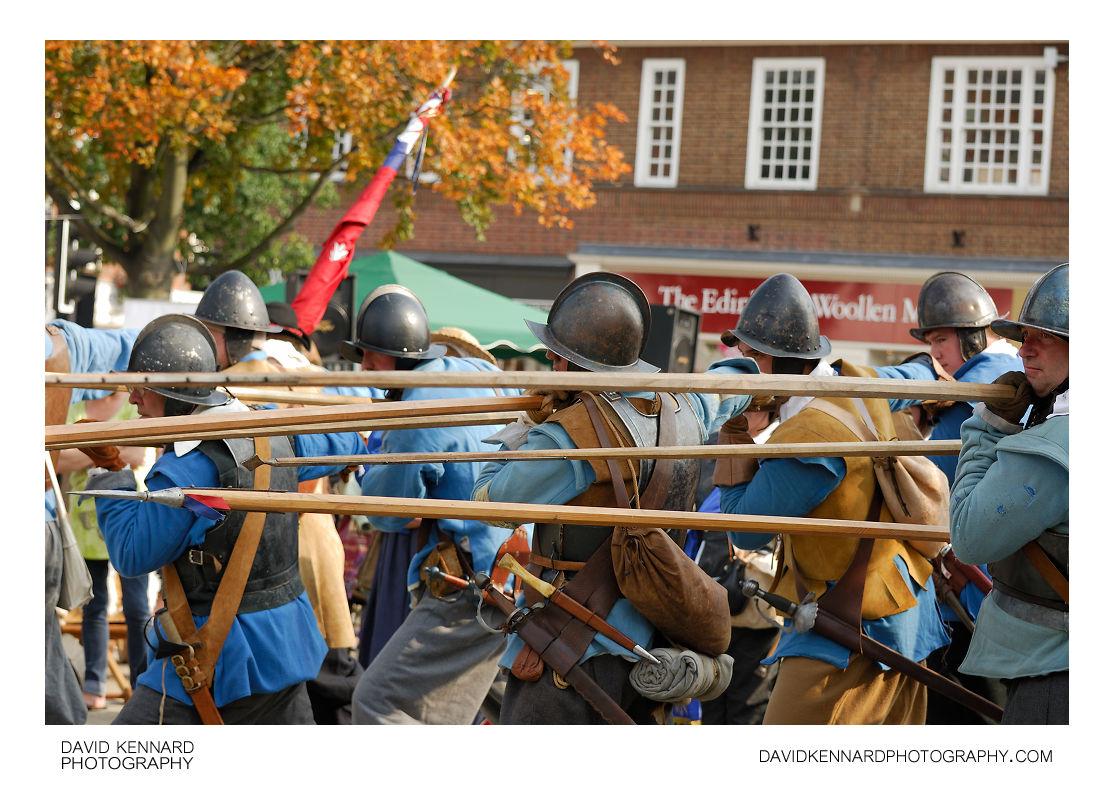 English Civil War Royalist Pikemen