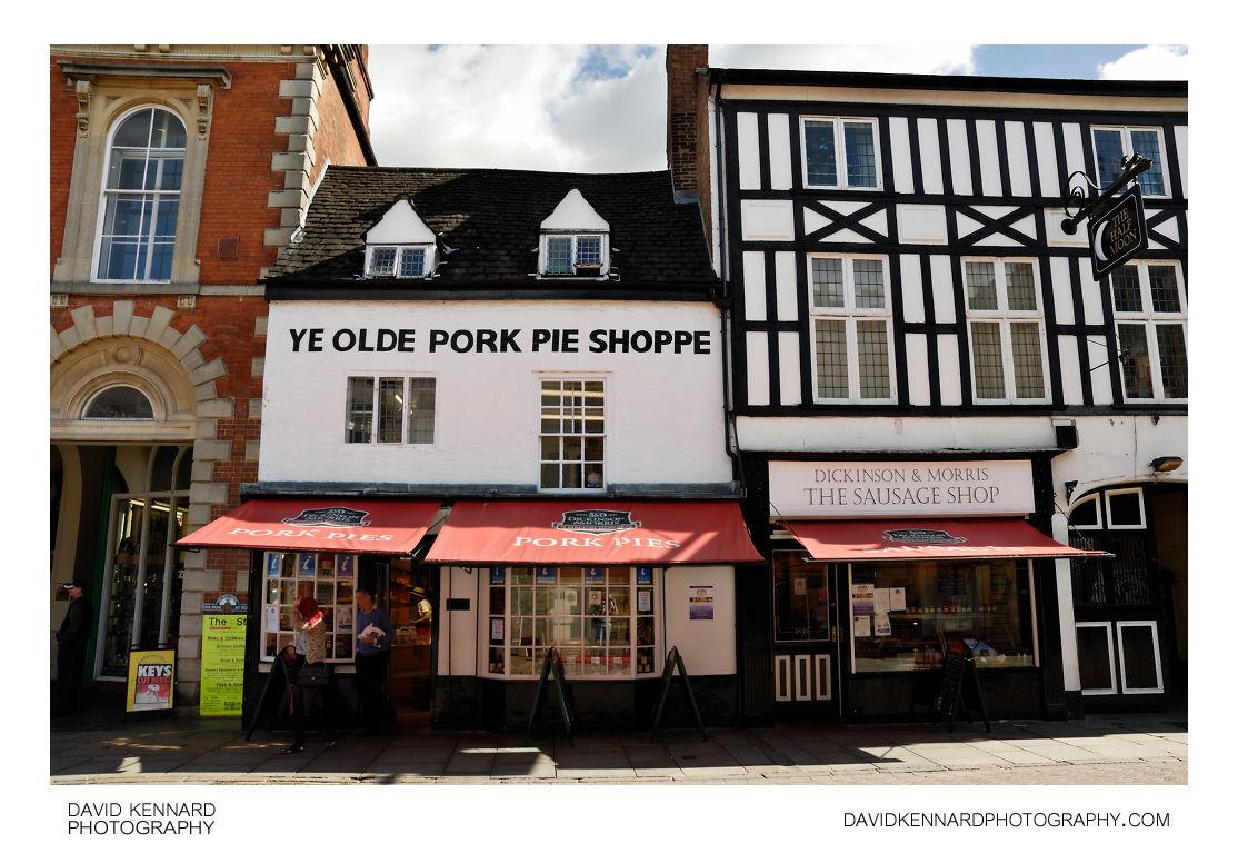 7df619995e68d Dickinson & Morris Pork Pie and Sausage shops, Melton Mowbray ...