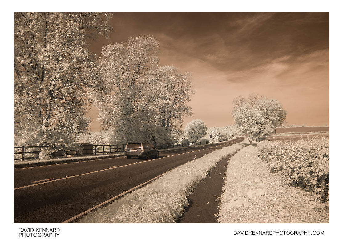 Harborough Road in Infrared