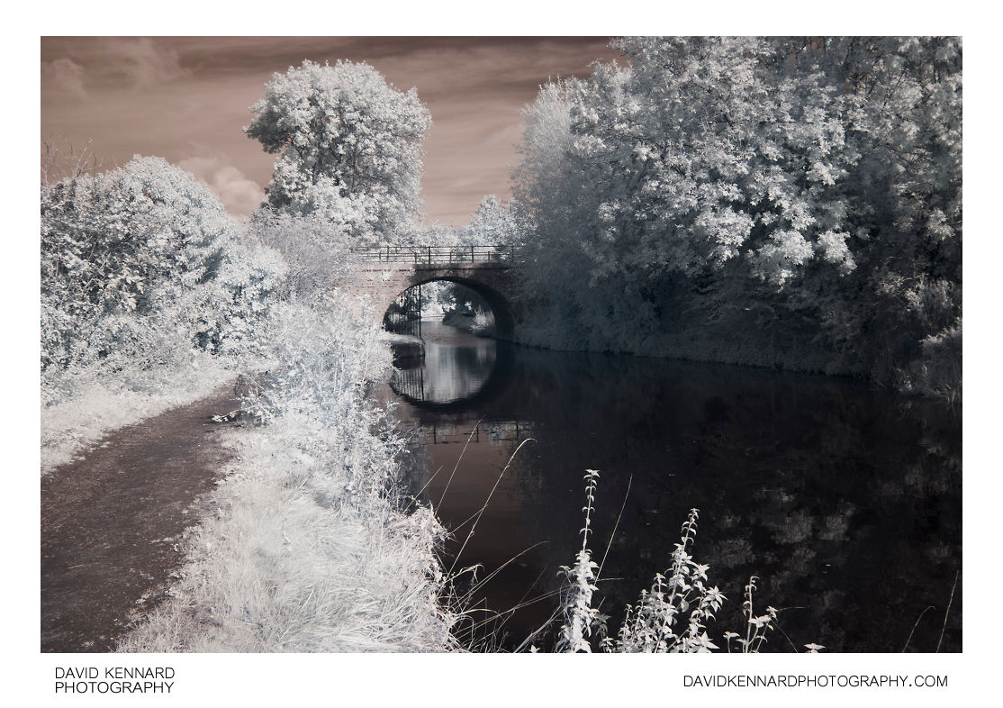 Grand Union Canal Harborough arm in infrared