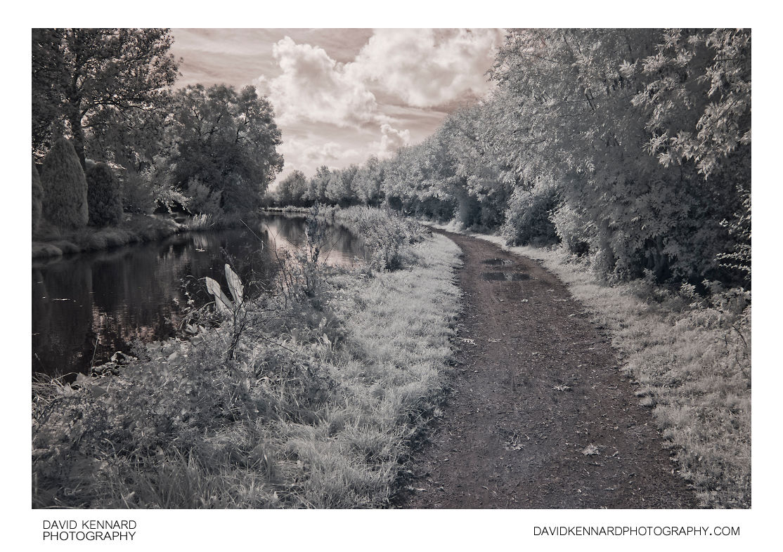 Grand Union Canal, Market Harborough (infrared)