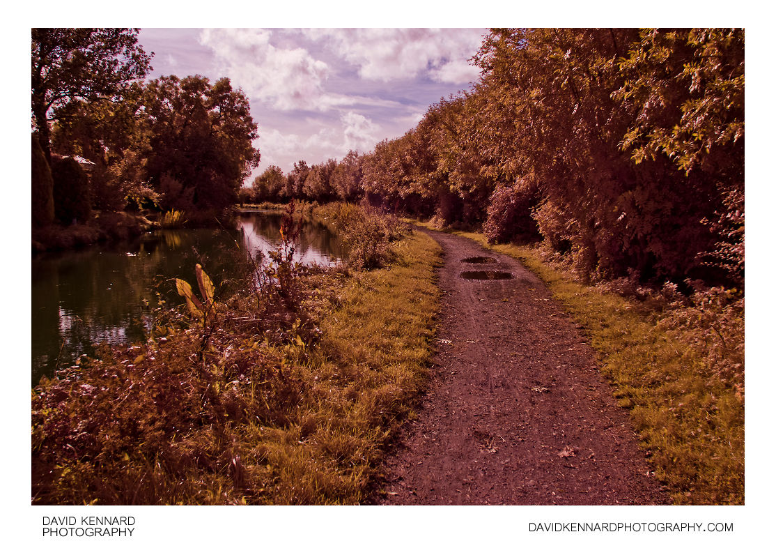 Grand Union Canal, Market Harborough (IR + visible)