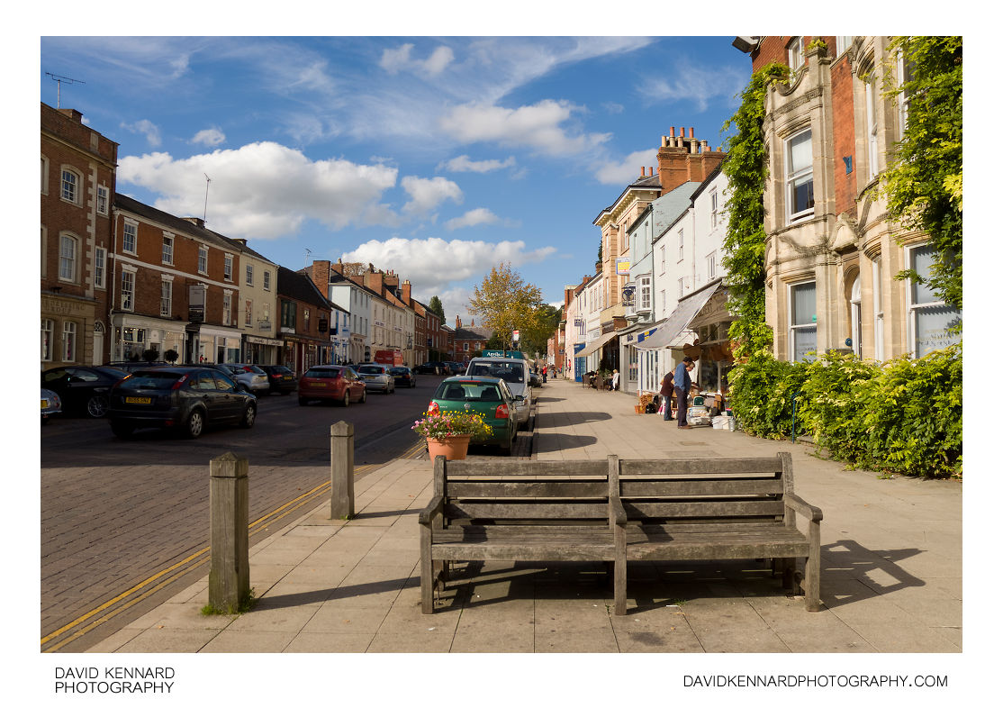 North end of the High Street, Market Harborough