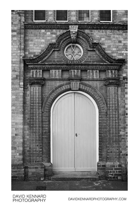 Congregational Church side door, Market Harborough