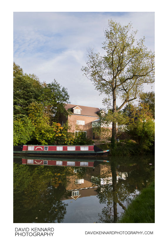 House and Narrowboat, Harborough
