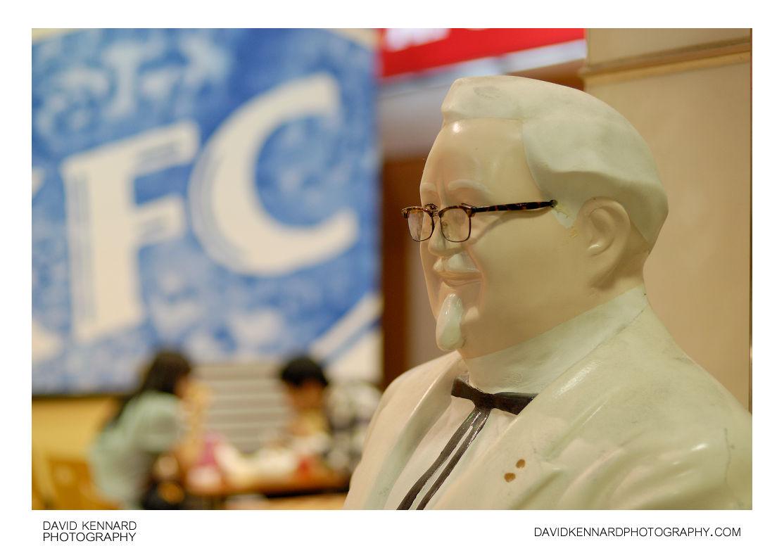 Colonel Sanders Statue