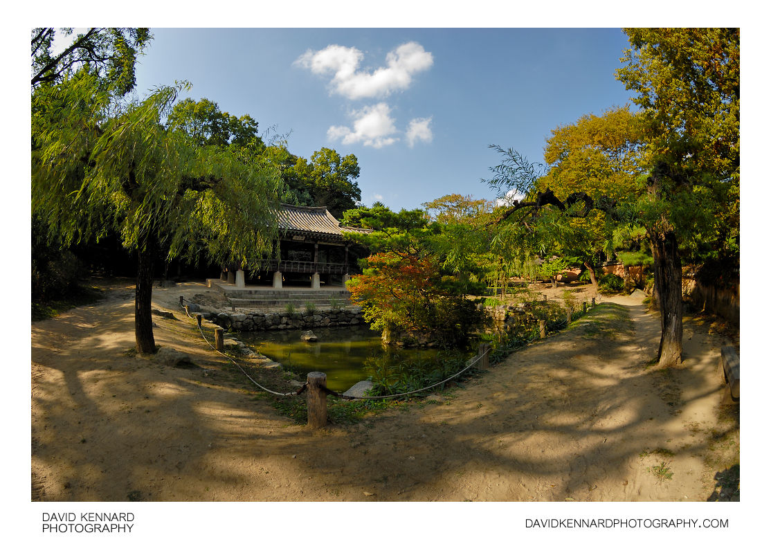 Small pond, Korean Folk Village