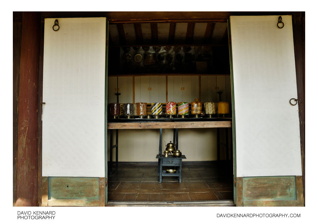 Inside a room at the Nobleman's Mansion