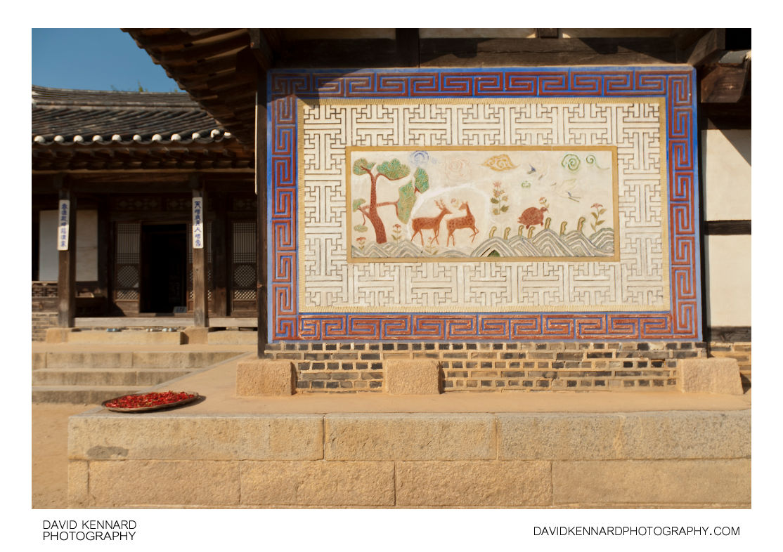 Mural on wall of Nobleman's Mansion