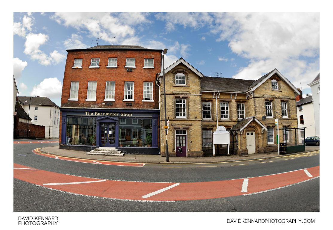 Barometer Shop & Brook Hall