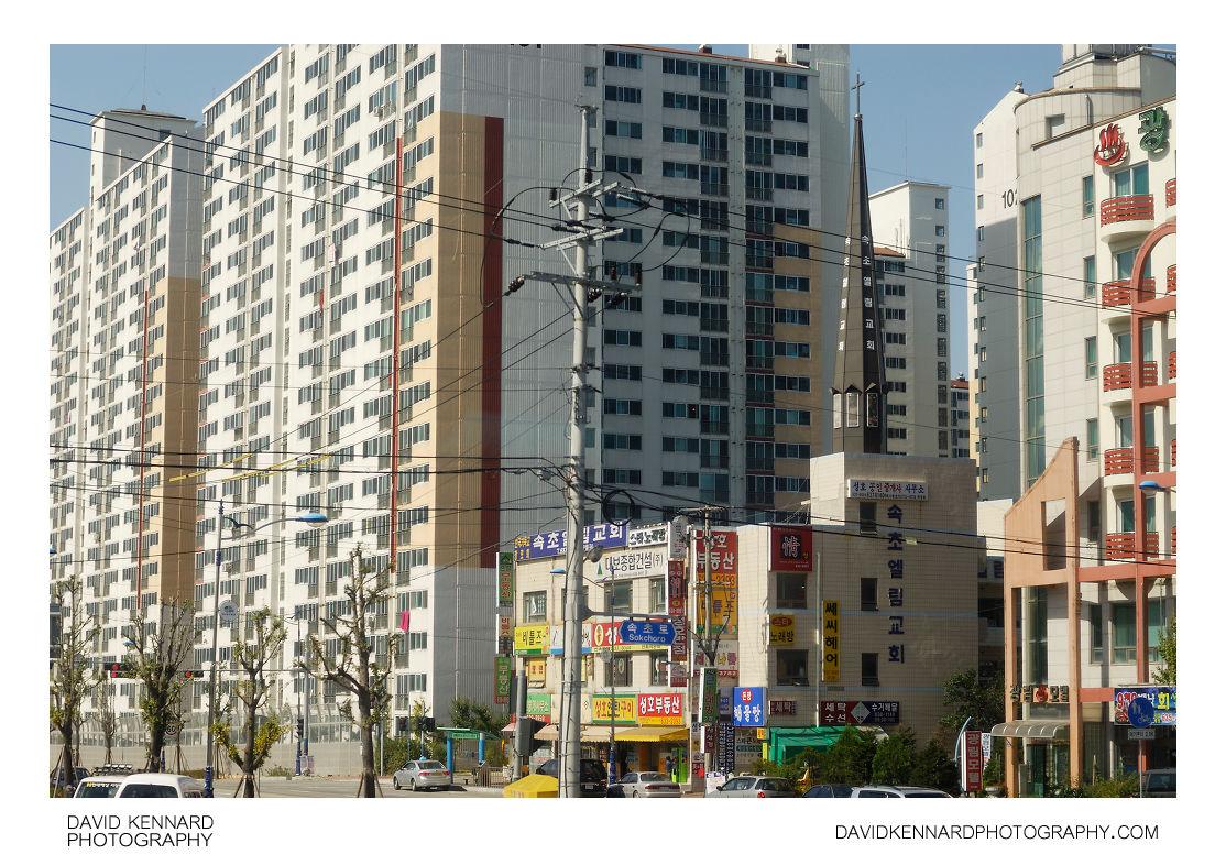 Jeongdae-ro, Sokcho