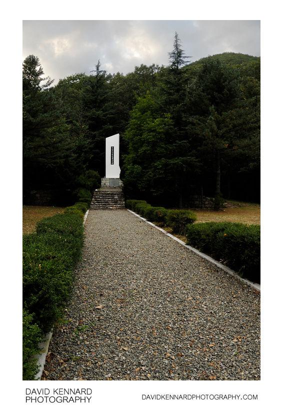 Korean War Memorial 이름모를 자유용사의 비