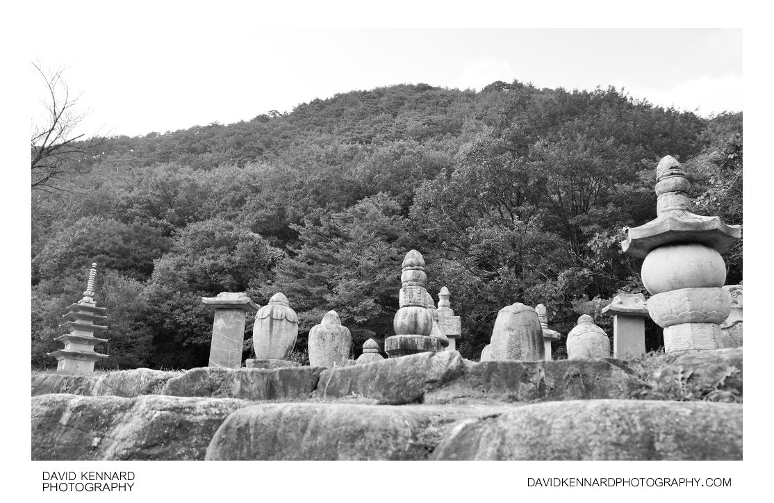 Group of stupa in Sinheungsa temple