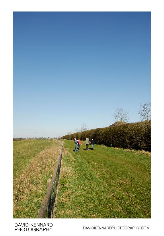 Countryside walk near Holcot