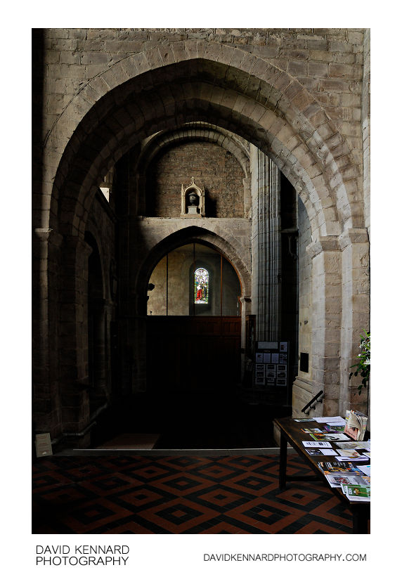 Archways in Priory Church