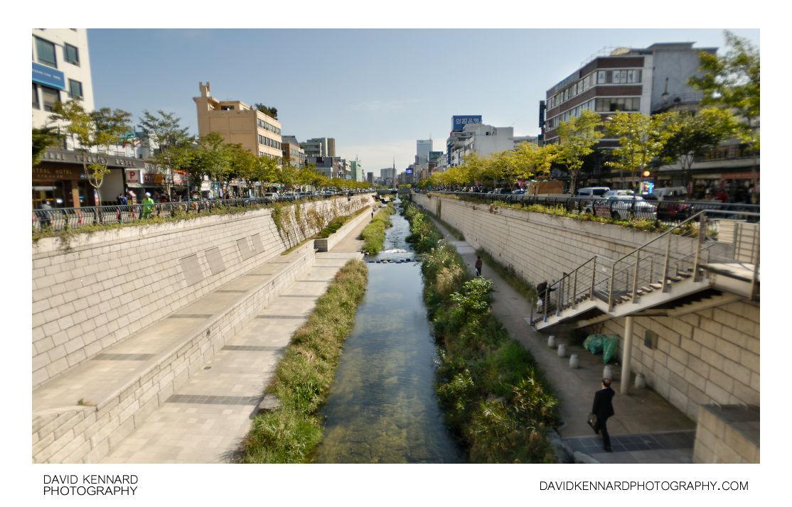 Gwansugyo bridge, Cheonggyecheon