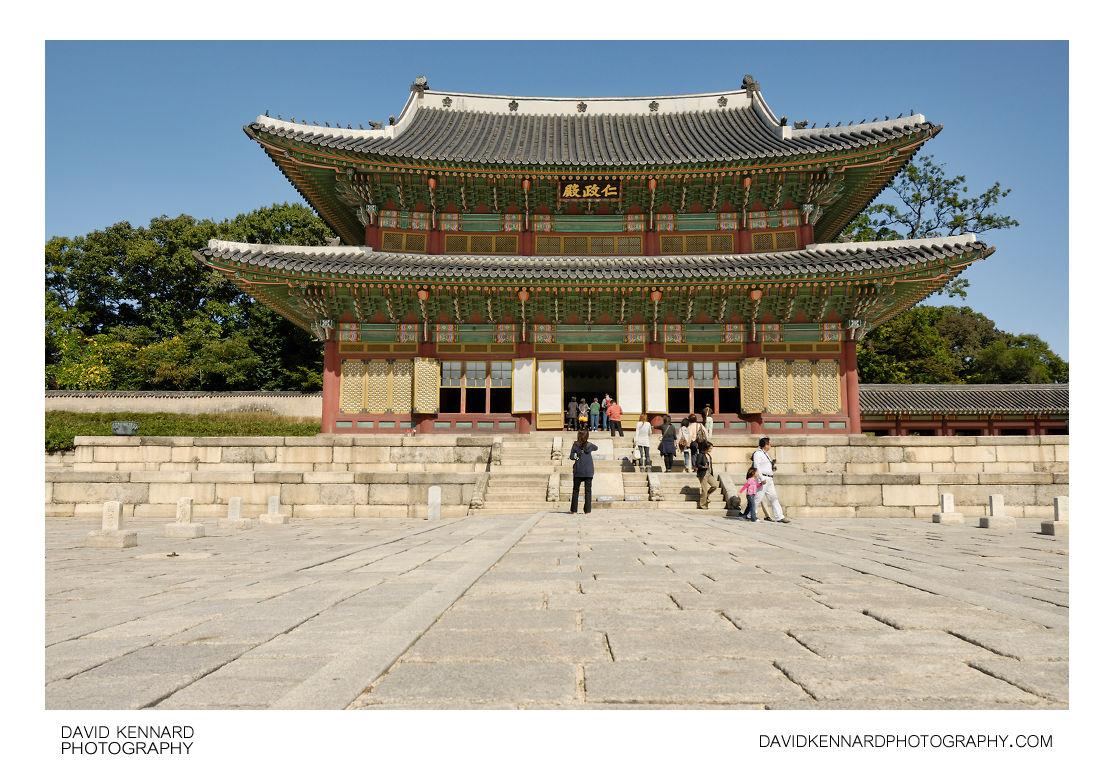 Injeongjeon throne hall, Changdeokgung palace