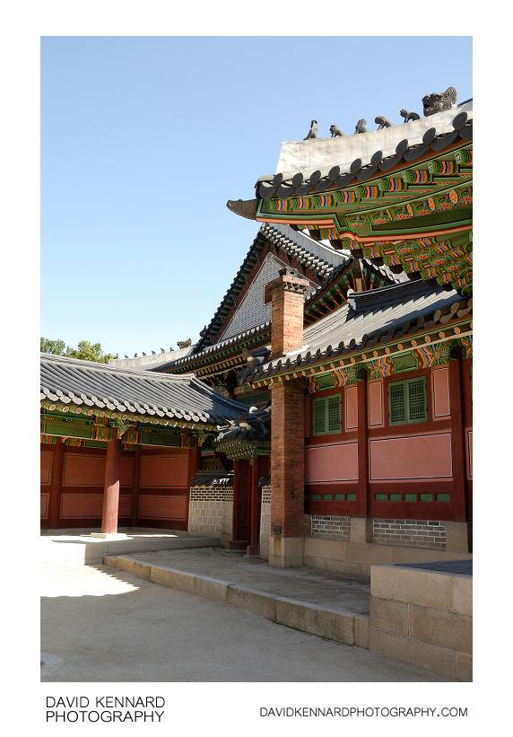 Area west of Huijeongdang, Changdeokgung palace