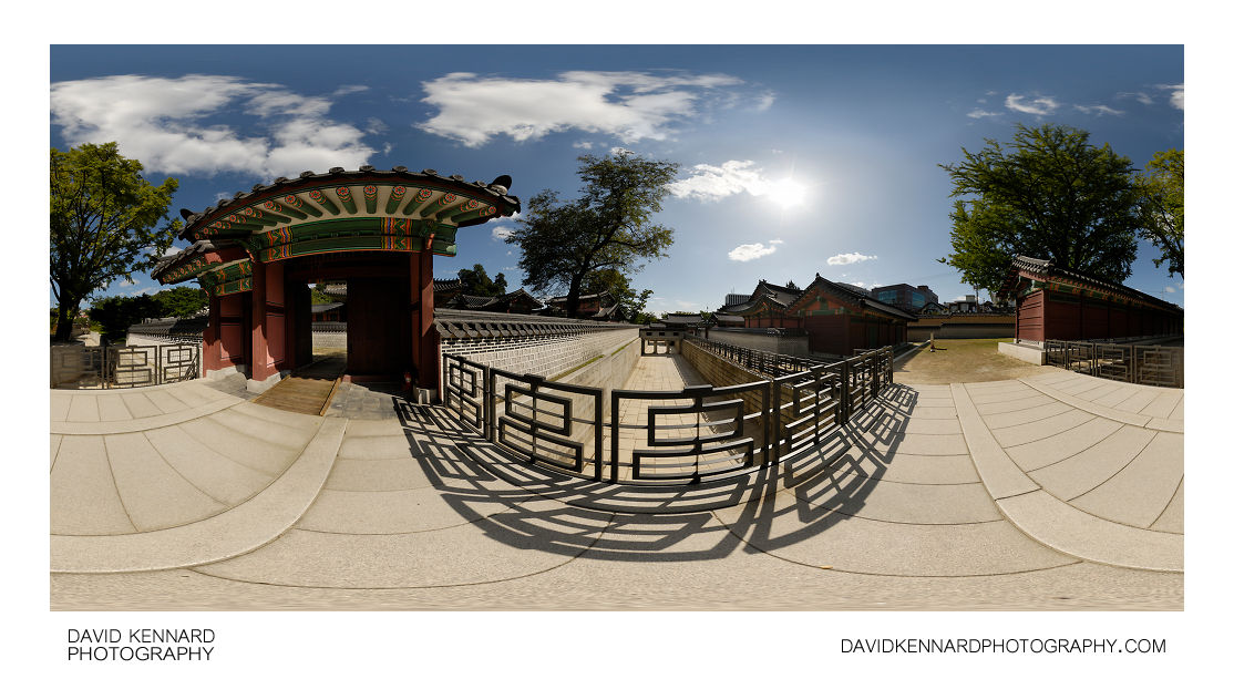 Bridge over Geumcheon, Changdeokgung palace