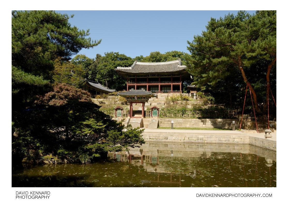 Buyongji area, Changdeokgung palace