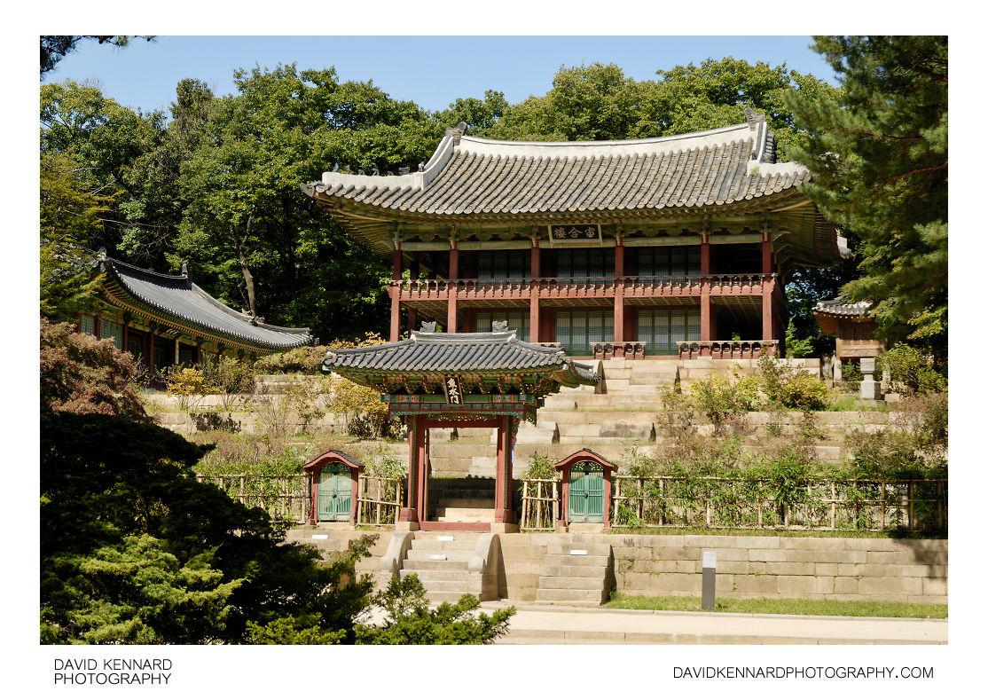Eosumun and Juhamnu, Changdeokgung palace