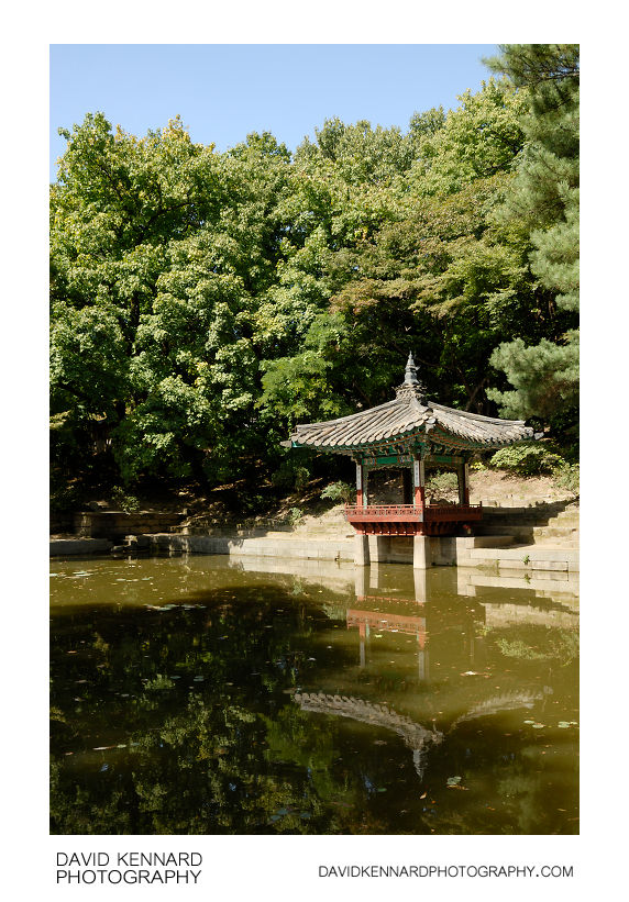 Aeryeon lake and pavilion, Changdeokgung