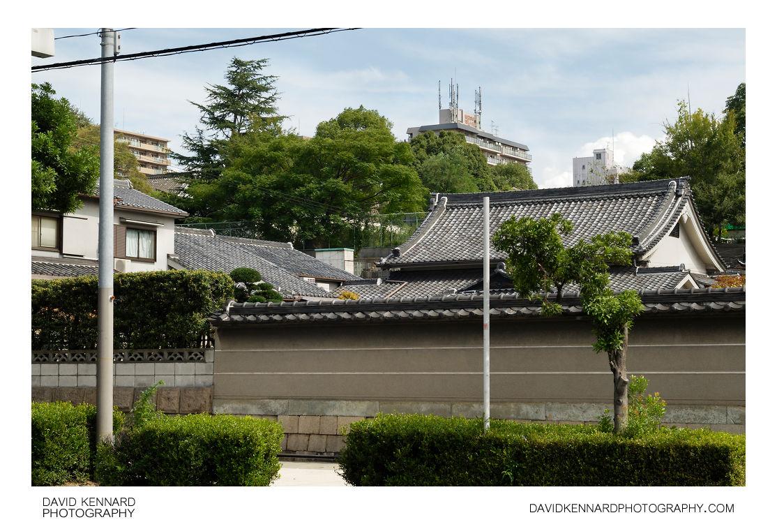 Wall at west of Sainenji, Osaka