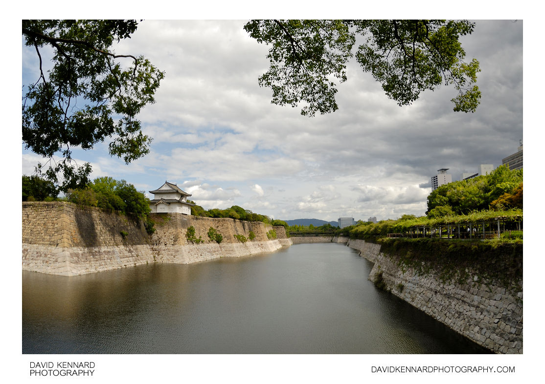 South outer moat of Osaka Castle