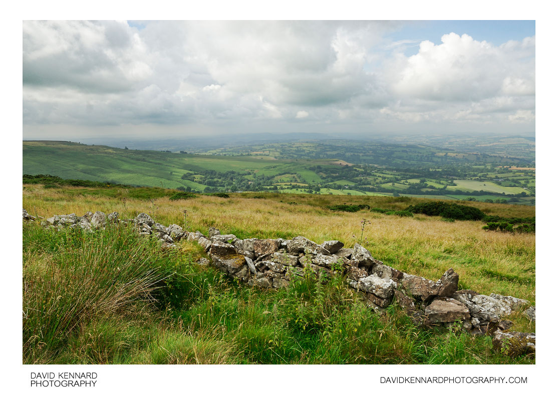 View from Brown Clee Hill