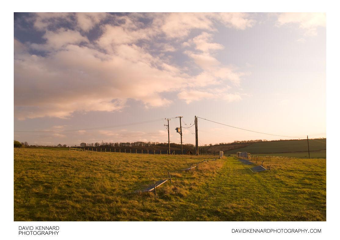 Sunset near Dingley