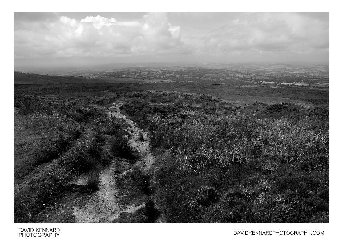 Path down Brown Clee Hill