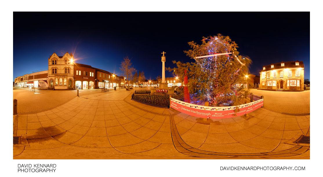 Christmas Tree in Market Harborough Square