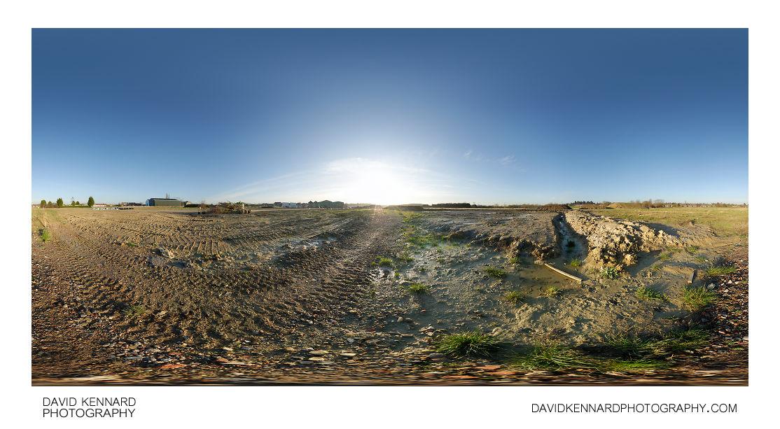 Footpath through Farndon Fields Development