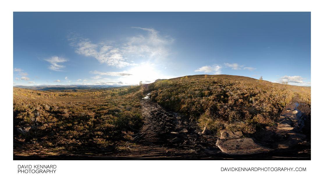 Path up Meall Fuar-mhonaidh