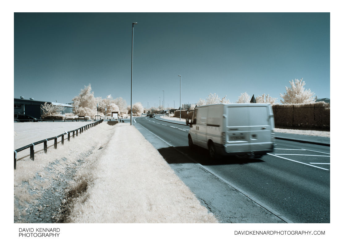 Rockingham Road in Infrared