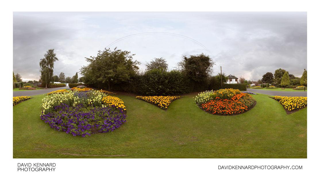 Flower displays at Welland Park Summer 2012