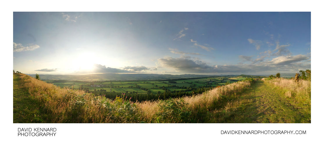 View from Callow Hill