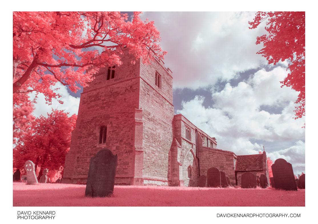 [EIR / Aerochrome] All Saints Church, Lubenham