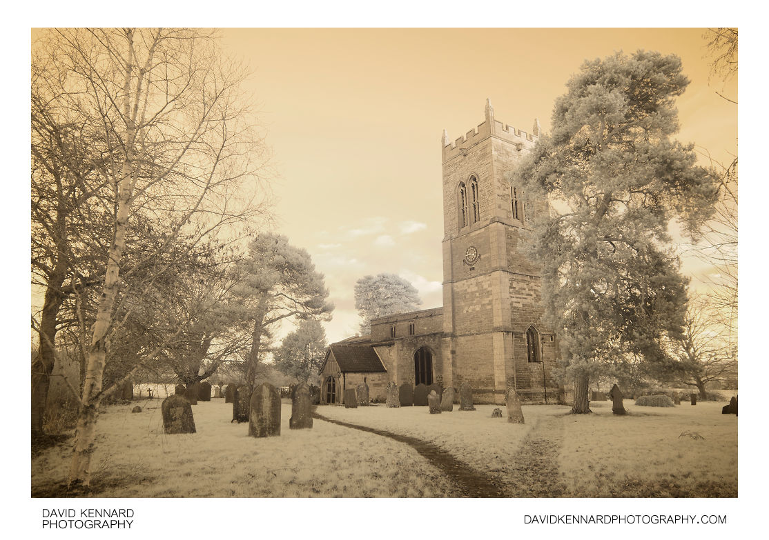 St. Nicholas Marston Trussell Parish Church in IR