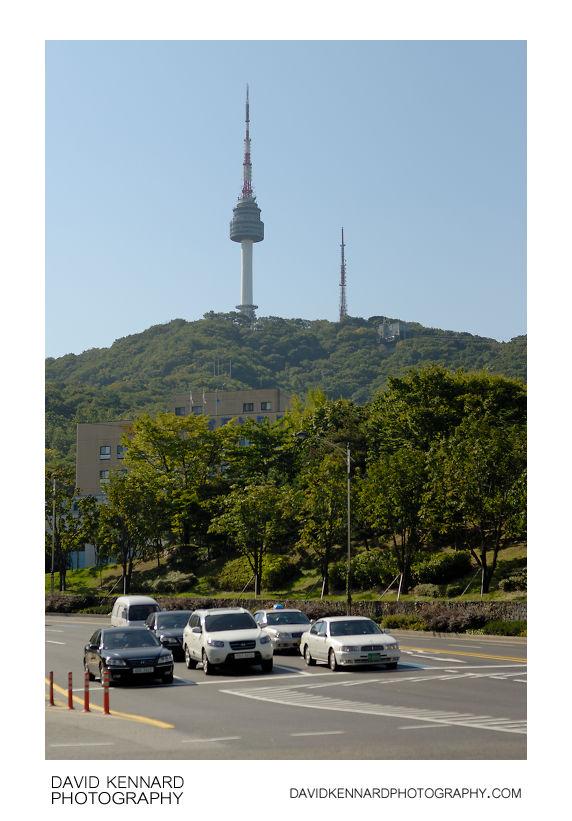 Namsan Mountain and N Seoul Tower