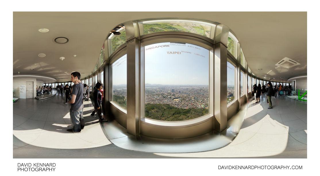 N Seoul Tower Observatory 360