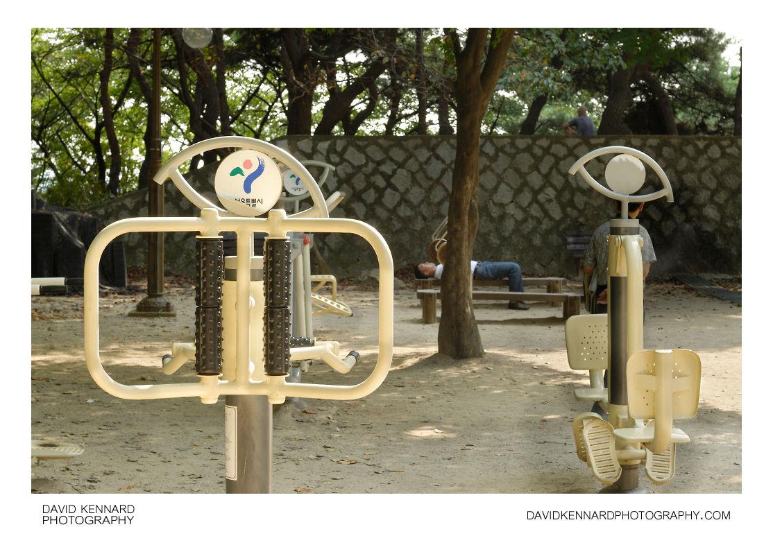 Fitness Park, Namsan